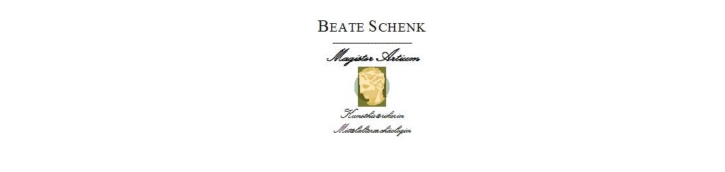 artes-bonae.com Beate Schenk M.A. Gutachten, Wertermittlungen, Expertisen logo